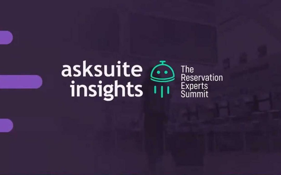 Asksuite Insights - Hotel industry conference