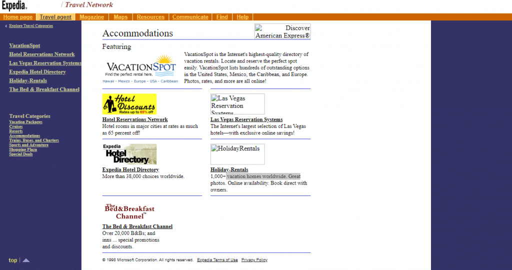 expedia-feb-1999-page-capture-by-web.archive.org