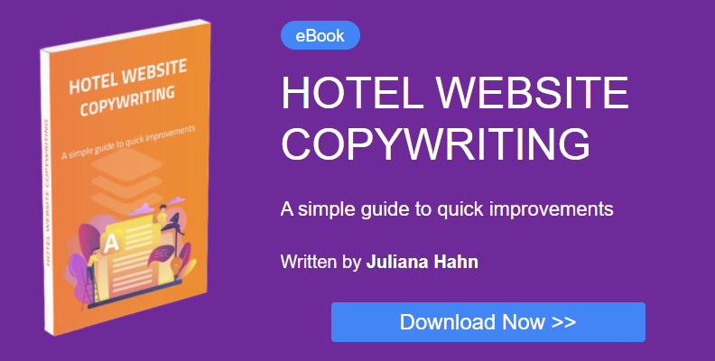 ebook hotel copywriting