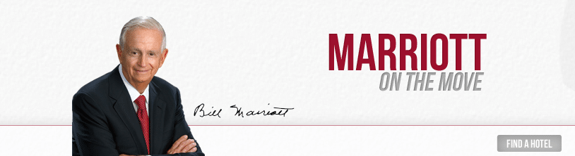 Blog de Bill Marriott, On The Move